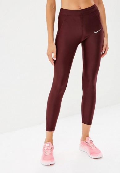 Купить Тайтсы Nike - цвет: бордовый, Камбоджа, NI464EWBWJB1