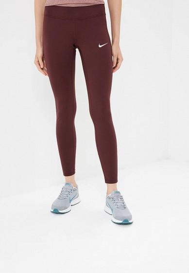 Купить Тайтсы Nike - цвет: бордовый, Вьетнам, NI464EWBWJB2