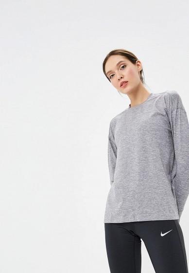 Купить Лонгслив спортивный Nike - цвет: серый, Шри-Ланка, NI464EWBWJH6