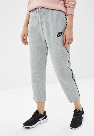 Купить Брюки спортивные Nike - цвет: серый, Малайзия, NI464EWBWJR1