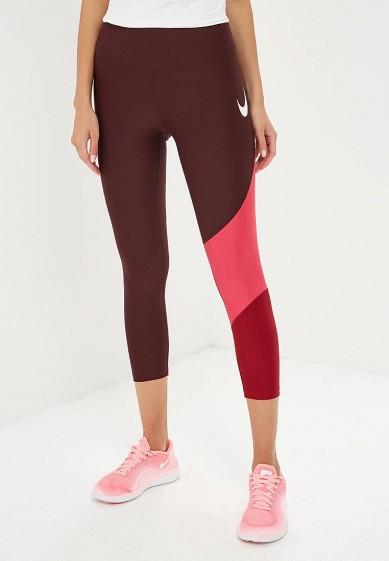 Купить Тайтсы Nike - цвет: бордовый, Шри-Ланка, NI464EWBWJY9