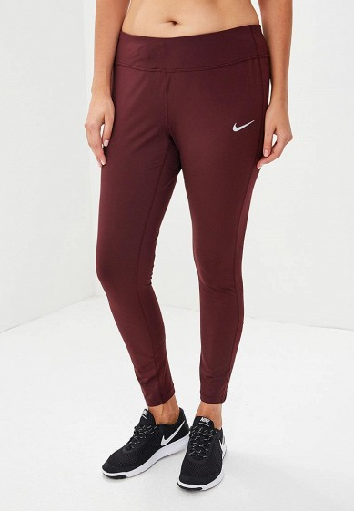 Купить Тайтсы Nike - цвет: бордовый, Вьетнам, NI464EWBWKO8