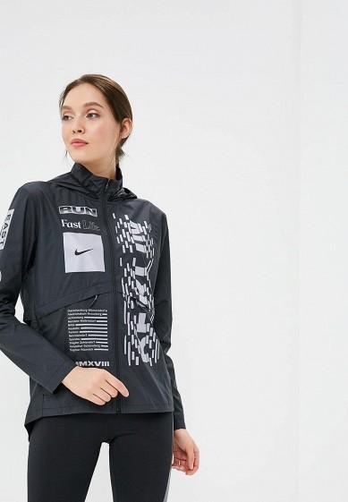 Купить Ветровка Nike - цвет: черный, Вьетнам, NI464EWBWLS4