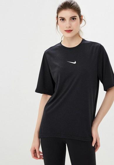 Футболка спортивная Nike - цвет: черный, Таиланд, NI464EWCMLB3  - купить со скидкой