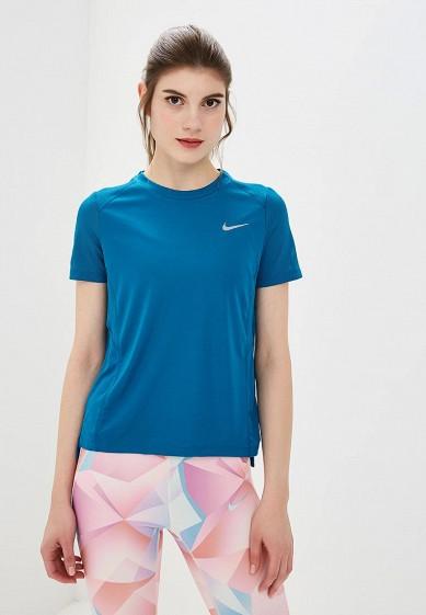 Футболка спортивная Nike - цвет: синий, Камбоджа, NI464EWCMLG4  - купить со скидкой