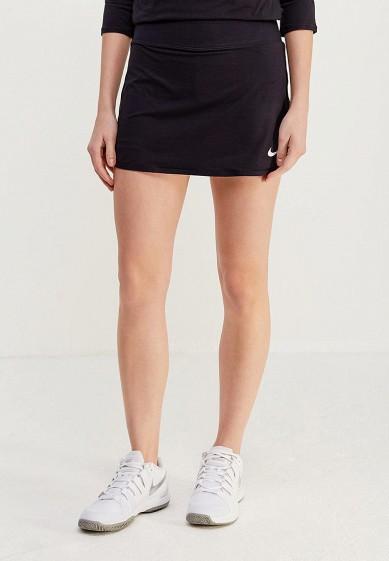 Купить Юбка-шорты Nike - цвет: черный, Камбоджа, NI464EWHBM25