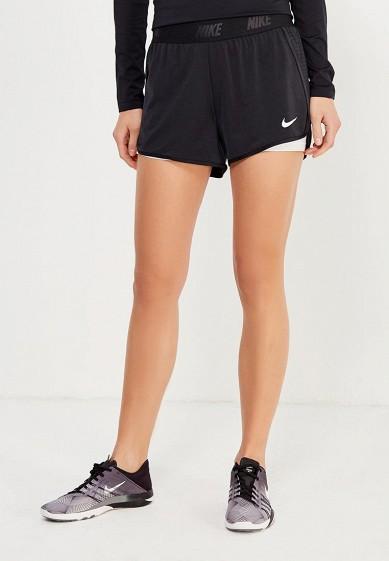 Купить Шорты спортивные Nike - цвет: черный, Камбоджа, NI464EWPKW40
