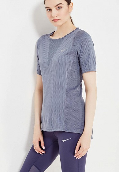 Футболка спортивная Nike W NK ZNL CL RELAY TOP SS
