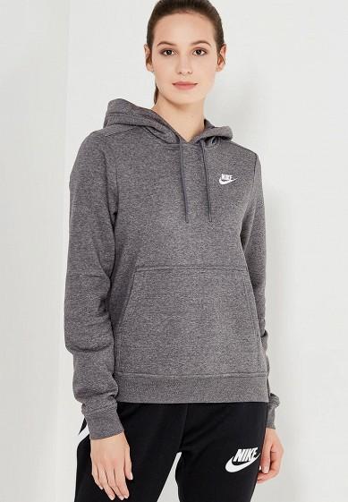 Купить Худи Nike - цвет: серый, Пакистан, NI464EWUGV89