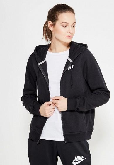 Купить Толстовка Nike - цвет: черный, Пакистан, NI464EWUGV94