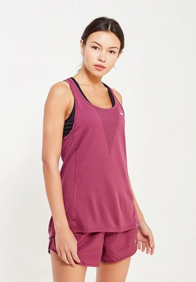 Купить Майка спортивная Nike - цвет: бордовый, Таиланд, NI464EWUHB19