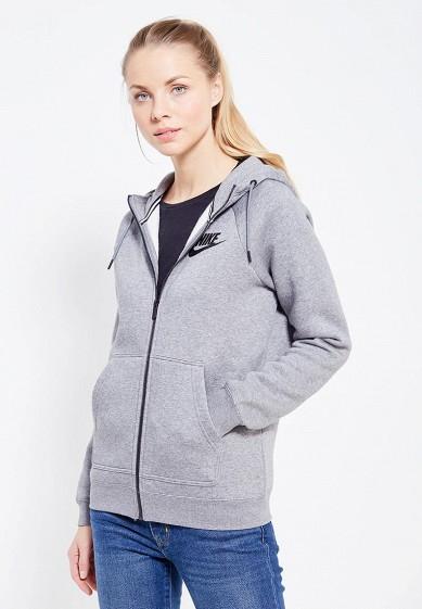 Купить Толстовка Nike - цвет: серый, Камбоджа, NI464EWUHC75