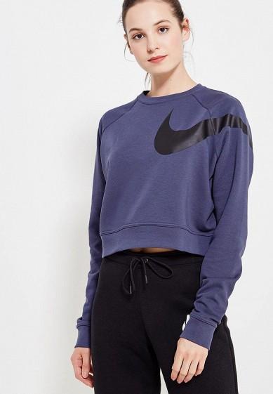 Купить Свитшот Nike - цвет: синий, Вьетнам, NI464EWUHD90