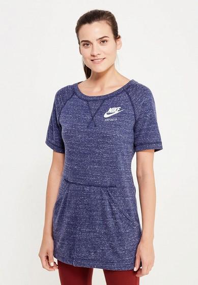 Купить Футболка Nike - цвет: синий, Камбоджа, NI464EWUHH31