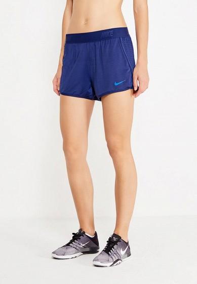 Купить Шорты спортивные Nike - цвет: синий, Камбоджа, NI464EWUHH53