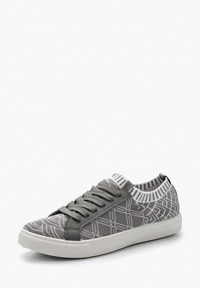 Купить Кеды Nobbaro - цвет: серый, Китай, NO021AWASFT1