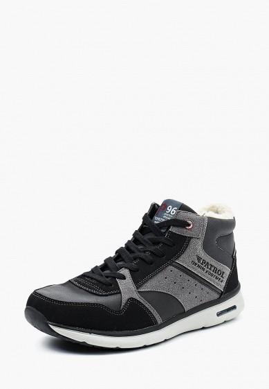 Купить Кроссовки Patrol - цвет: черный, Китай, PA050AMTFI67