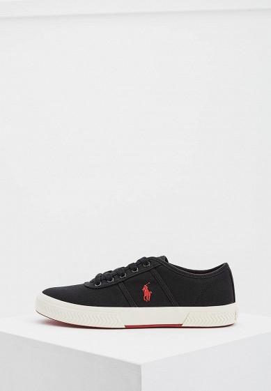 Купить Кеды Polo Ralph Lauren - цвет: черный, Китай, PO006AMASYL2