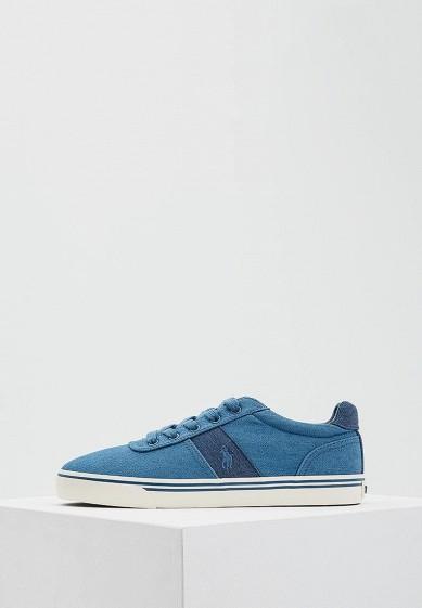 Купить Кеды Polo Ralph Lauren - цвет: голубой, Китай, PO006AMASYL5