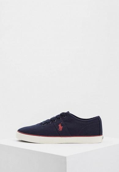 Купить Кеды Polo Ralph Lauren - цвет: синий, Китай, PO006AMASYN3