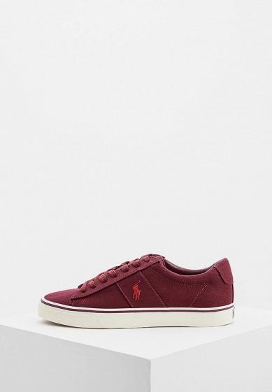Купить Кеды Polo Ralph Lauren - цвет: бордовый, Китай, PO006AMBWZB5