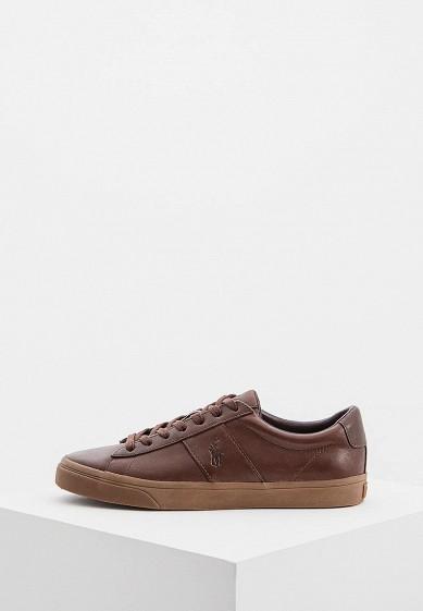 Купить Кеды Polo Ralph Lauren - цвет: коричневый, Китай, PO006AMBXEC1
