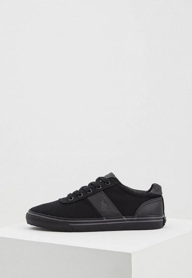Кеды Polo Ralph Lauren - цвет: черный, Китай, PO006AMWET29  - купить со скидкой