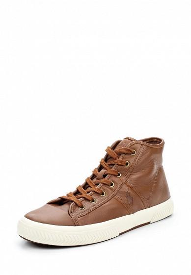 Купить Кеды Polo Ralph Lauren - цвет: коричневый, Китай, PO006AMWET67
