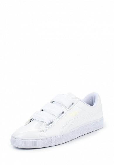 Купить Кеды PUMA - цвет: белый Китай PU053AWQOW73