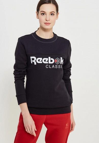 Купить Свитшот Reebok Classics - цвет: черный, Вьетнам, RE005EWALIV1