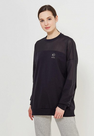 Купить Свитшот Reebok Classics - цвет: черный, Вьетнам, RE005EWALIV7