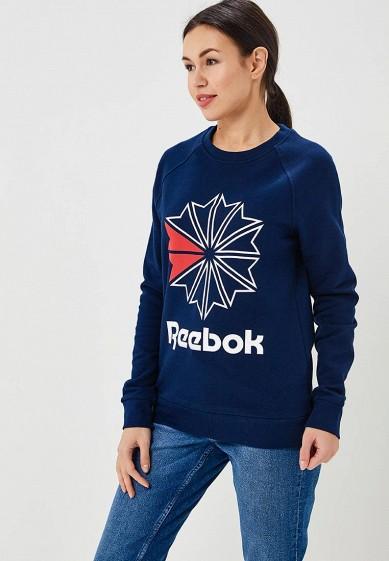 Купить Свитшот Reebok Classics - цвет: синий, Пакистан, RE005EWBEWS4