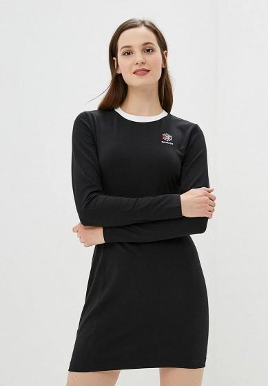 Купить Платье Reebok Classics - цвет: черный, Камбоджа, RE005EWCDKS2
