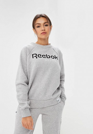 Купить Свитшот Reebok Classics - цвет: серый, Пакистан, RE005EWCDKT5