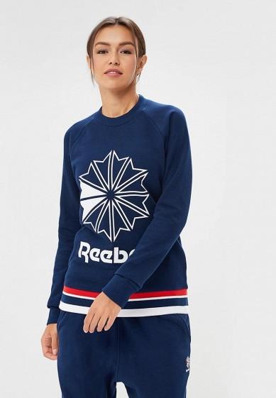 Купить Свитшот Reebok Classics - цвет: синий, Пакистан, RE005EWCDKT8
