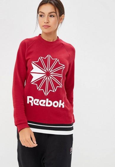 Купить Свитшот Reebok Classics - цвет: бордовый, Пакистан, RE005EWCDKU0