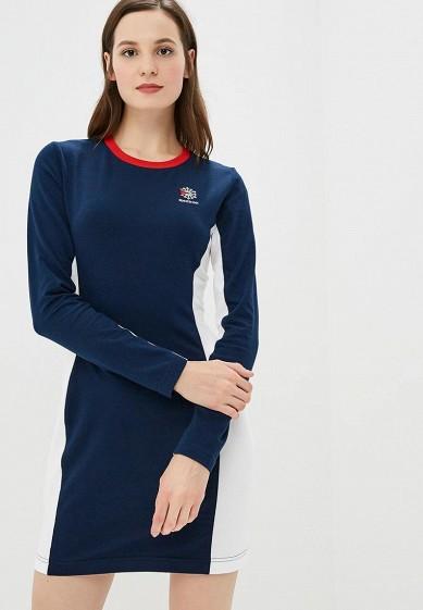 Купить Платье Reebok Classics - цвет: синий, Камбоджа, RE005EWCUVW2