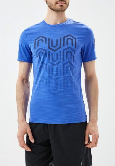 Купить Футболка спортивная Reebok - цвет: синий, Камбоджа, RE160EMALMM2