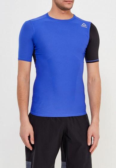 Купить Футболка спортивная Reebok - цвет: синий, Камбоджа, RE160EMALMN0