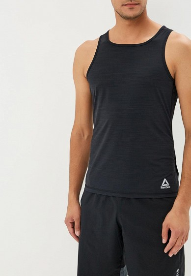 Купить Майка спортивная Reebok - цвет: черный, Камбоджа, RE160EMCDMH0