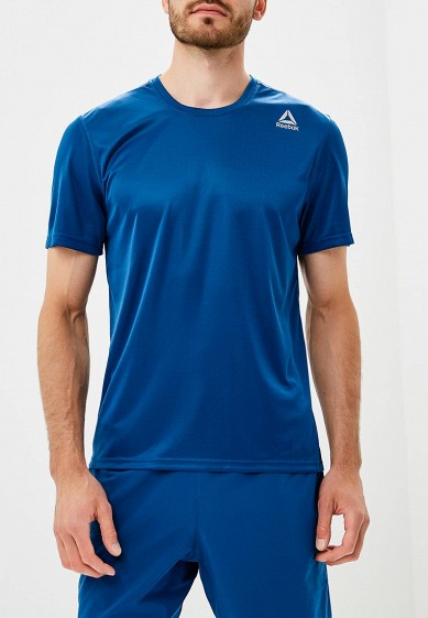 Купить Футболка спортивная Reebok - цвет: синий, Камбоджа, RE160EMCDMN0