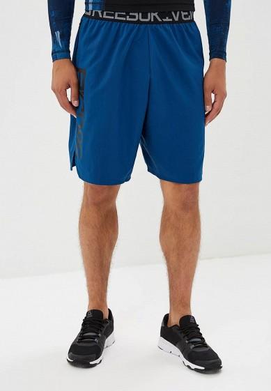 Купить Шорты спортивные Reebok - цвет: синий, Камбоджа, RE160EMCDMQ3