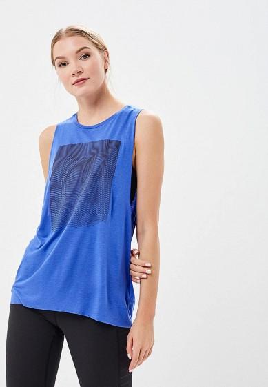 Купить Майка спортивная Reebok - цвет: синий, Таиланд, RE160EWALNB0