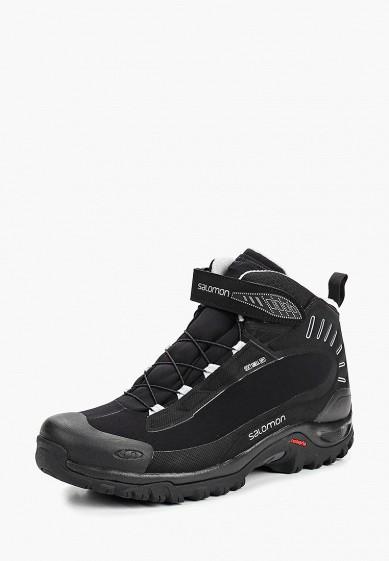 Ботинки Salomon - цвет: черный, Вьетнам, SA007AMBOII9  - купить со скидкой