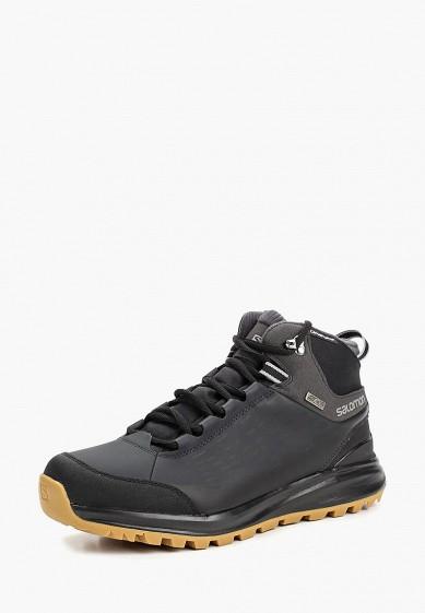 Купить Ботинки трекинговые Salomon - цвет: черный, Вьетнам, SA007AMBOIJ0