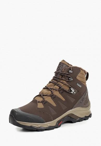 Купить Ботинки трекинговые Salomon - цвет: коричневый, Вьетнам, SA007AMBOIJ2