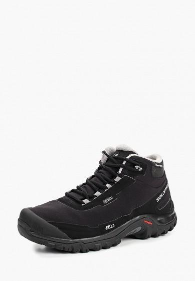 Купить Ботинки трекинговые Salomon - цвет: черный, Вьетнам, SA007AMBOIJ3