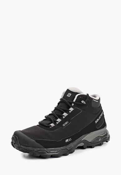 Купить Ботинки трекинговые Salomon - цвет: черный, Вьетнам, SA007AMBOIJ4