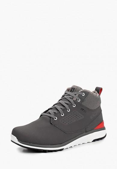Купить Ботинки трекинговые Salomon - цвет: серый, Вьетнам, SA007AMBOIJ7