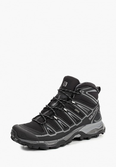 Ботинки трекинговые Salomon - цвет: черный, Вьетнам, SA007AMBOIK0  - купить со скидкой